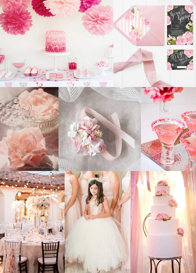 Basic Wedding Colours And Their Meaning Pink