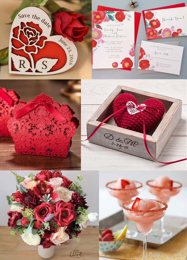 Basic Wedding Colours And Their Meaning Red