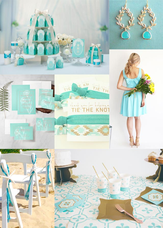 Basic Wedding Colours And Their Meaning Turquoise