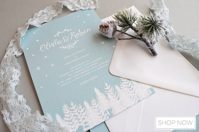 Create A Winter Wonderland Wedding Theme With These 11 Magical Decor Items 1