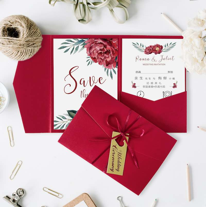 [VIDEO] Where to Get Affordable Pocket Invitation Kits With Tri-Fold Envelope Pockets
