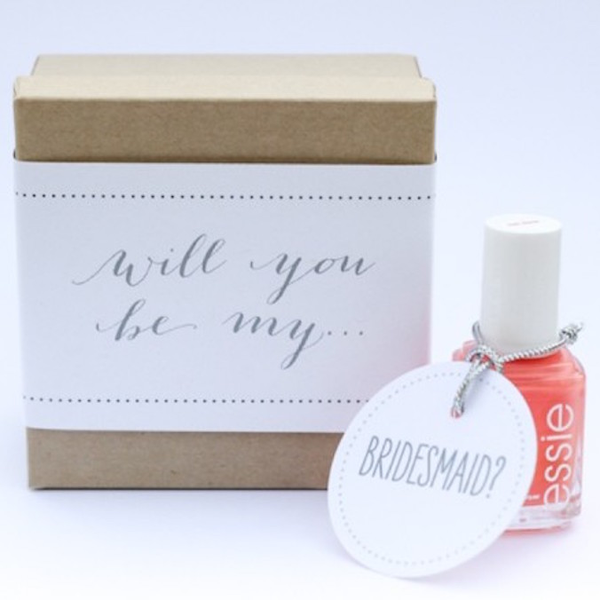 "8 Ways to ""Propose"" to Your Bridesmaids"