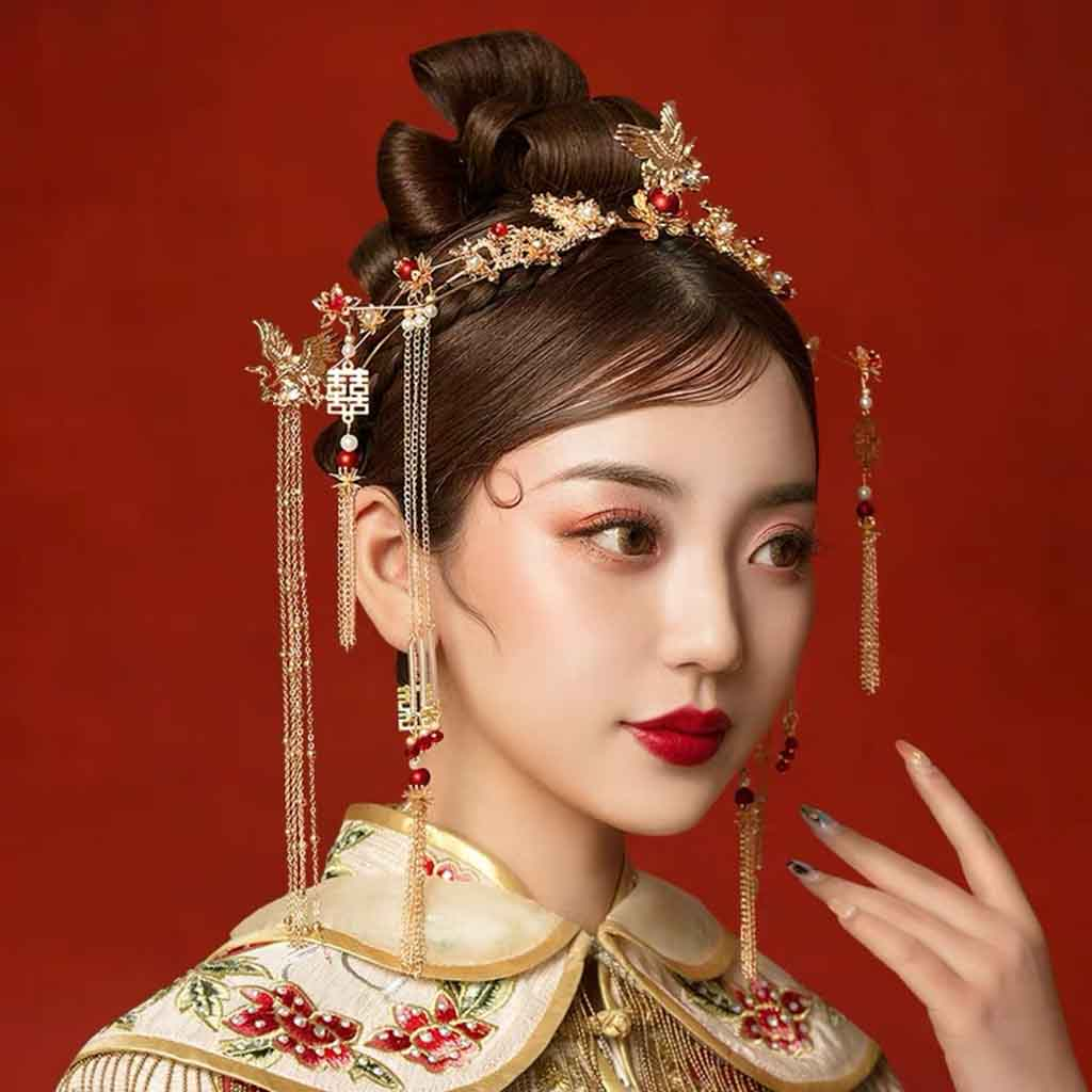 Chinese Wedding Hairpiece