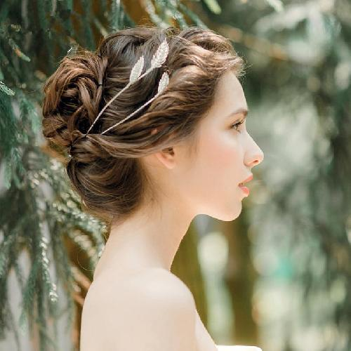 Simple & Elegant Bridal Headband Crown Tiara