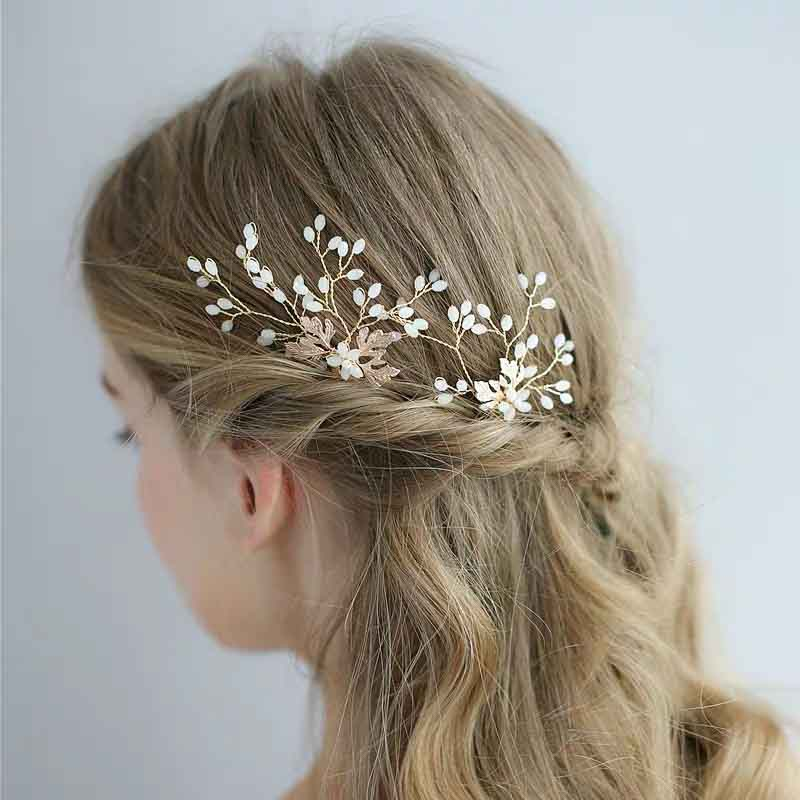 Gorgeous Wedding Day Hair Style