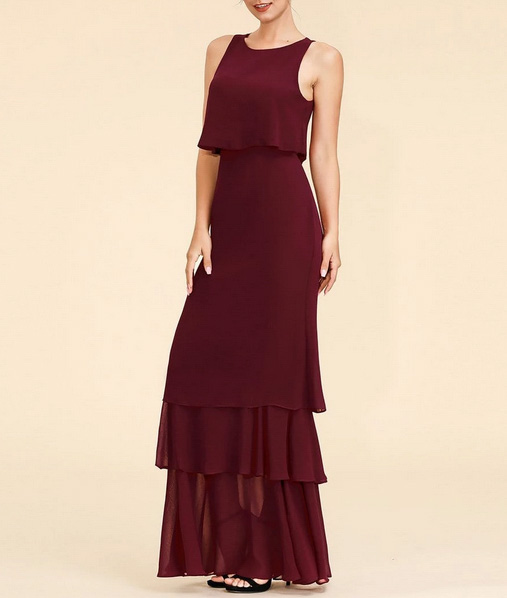 Squad Bridesmaids Wrap Dress