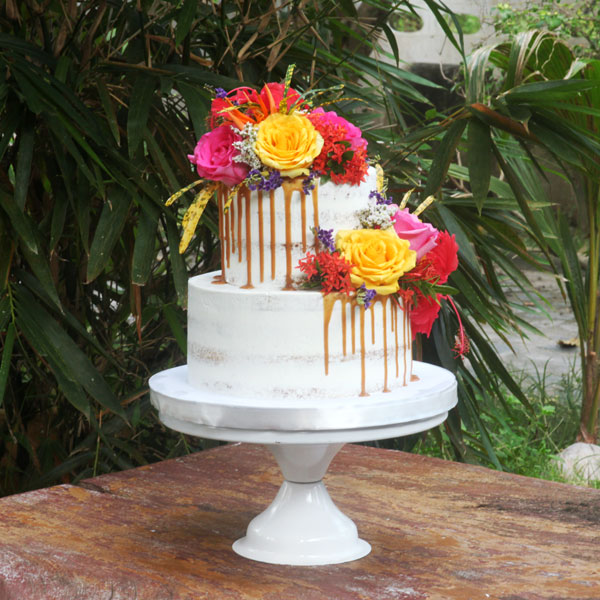 3-tiered Fondant-Covered Cake for 60 guests-2