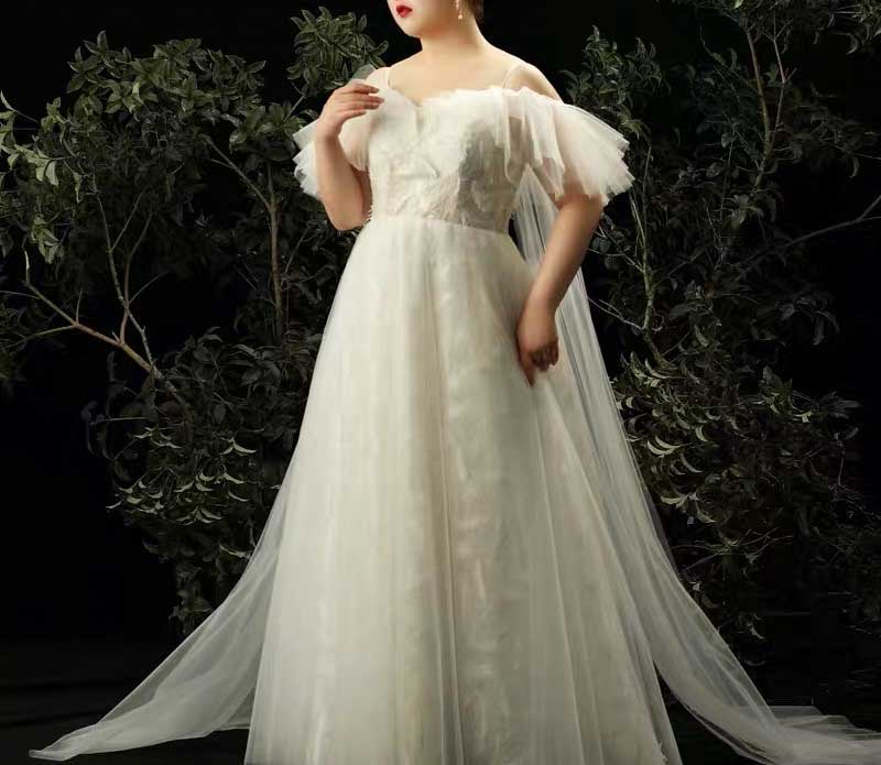 Plus Size Wedding Dresses & Evening Gowns