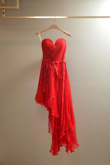 Rental 2 Brand Name Wedding Dress + 1 Red Evening Gown-7