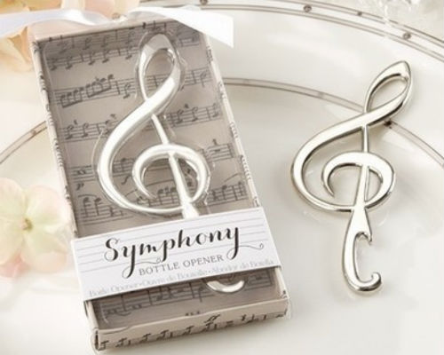 50 PCS Musical Note Bottle Opener Wedding Favors