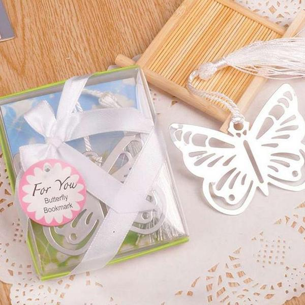 (50 Bookmarks) [Pretty Pretty Butterfly] Garden Wedding Butterly Bookmarks
