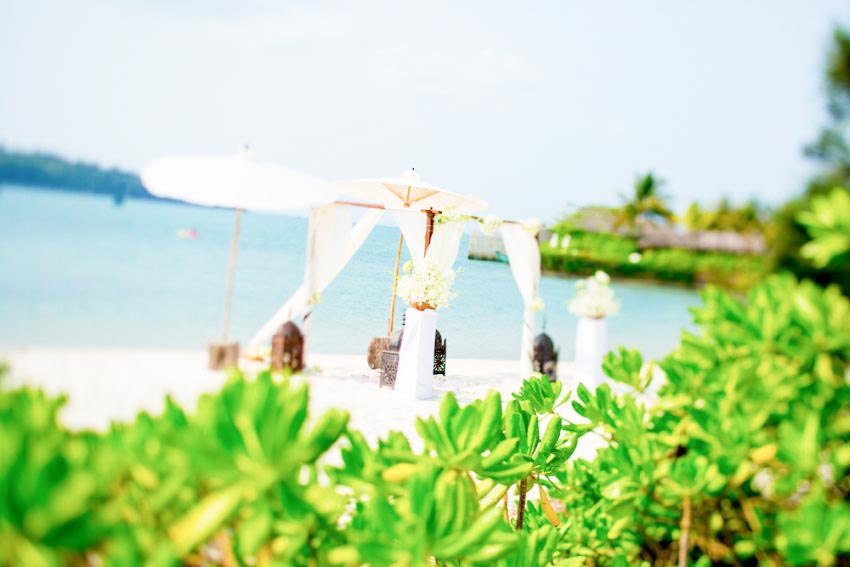 Song Saa Private Island Wedding Package (20 pax)