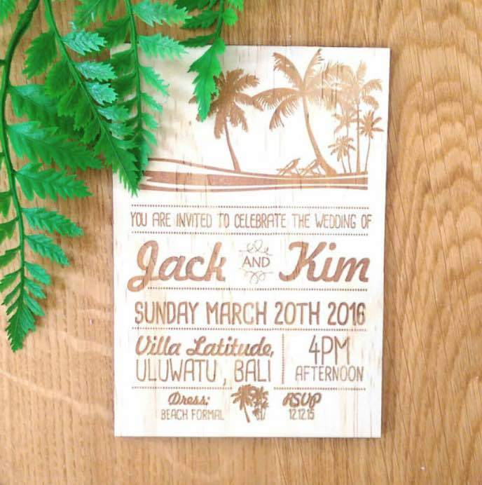 Love in the Tropics Invites