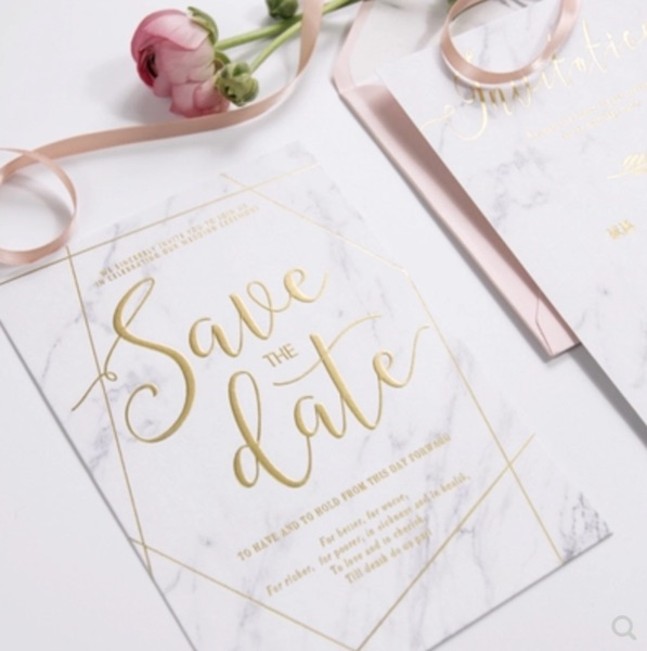 Invitation Design For Main Invitation + RSVP Card + More (5 Revisions)