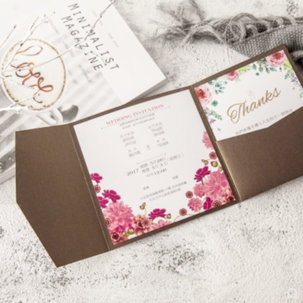 Main Invitation, RSVP Card, & More Design Package (Unlimited Revisions, Includes Printing)