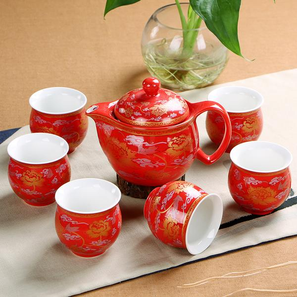 Chinese Engagement Tea Ceremony Decor