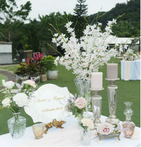 Wedding Decoration Photo Table Decoration