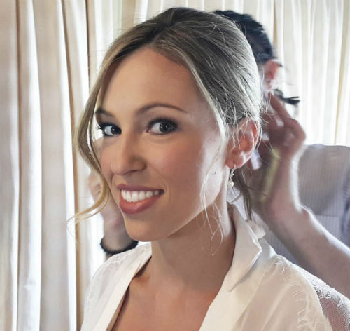 Wedding Day Makeup & Hair For Bride - Half Day (6 Hours) Including all Touch-Ups & Hair Style Change -4
