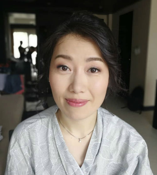 Wedding Day Makeup & Hair For Bride - Full Day (10 Hours) Including all Touch-Ups & Hair Style Chang