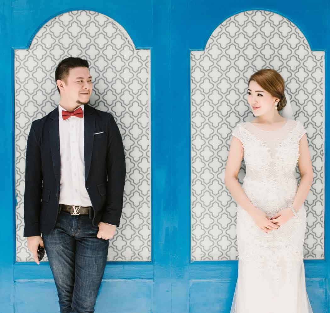 MUA + Custom Dress + Prewedding Photography (6 Hours)