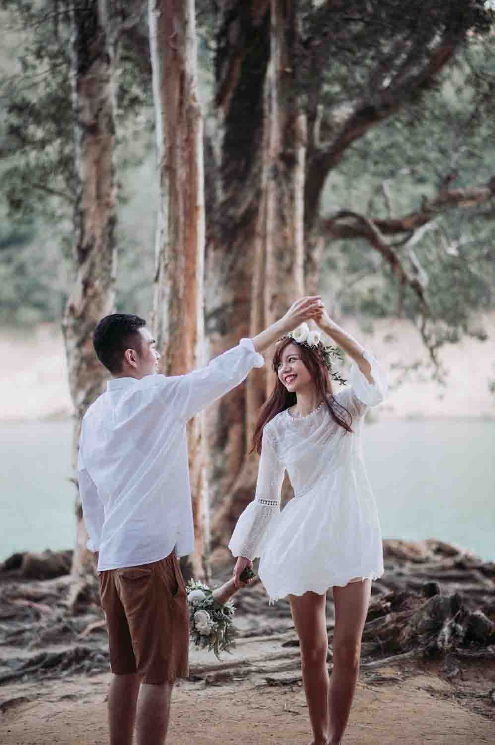 12 Hours Prewedding Shoot + Makeup & Hair + Transportation/Meals-17