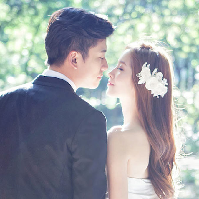 Korean Pre-Wedding Photography Package, Indoor + Free Outdoor (Terrace + Roof + Dosan Park )