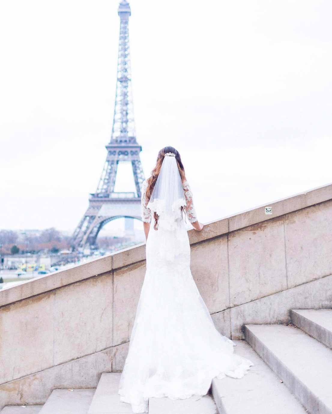 3 Hours Coverage For Wedding Elopement Ceremony - Fine Art Photographer in Paris