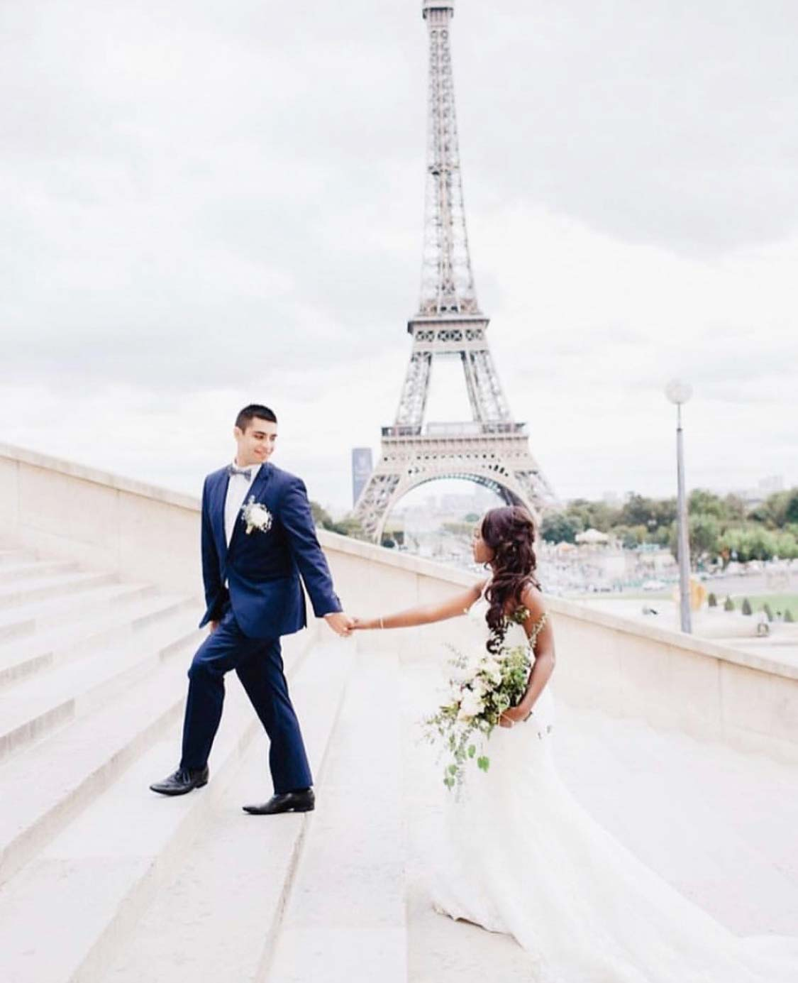 5 Hours Coverage For Wedding Elopement Ceremony - Fine Art Photographer in Paris
