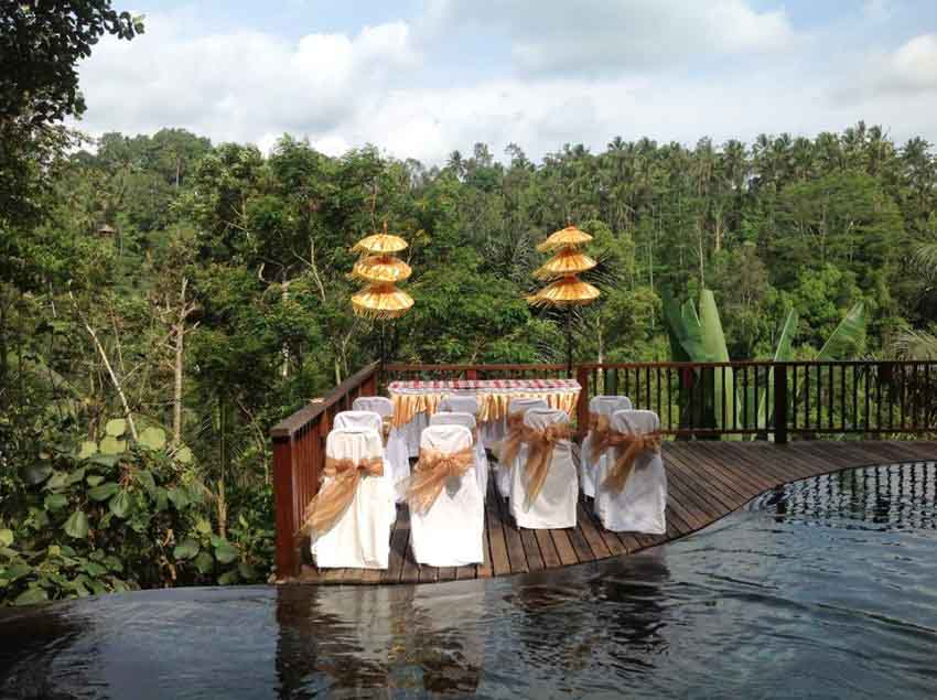 Nandini Jungle Resort & Spa, Bali Wedding Package (20 pax)