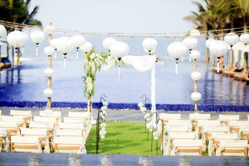 Naman Retreat, Danang Ceremony & Reception Wedding Package (30 pax)