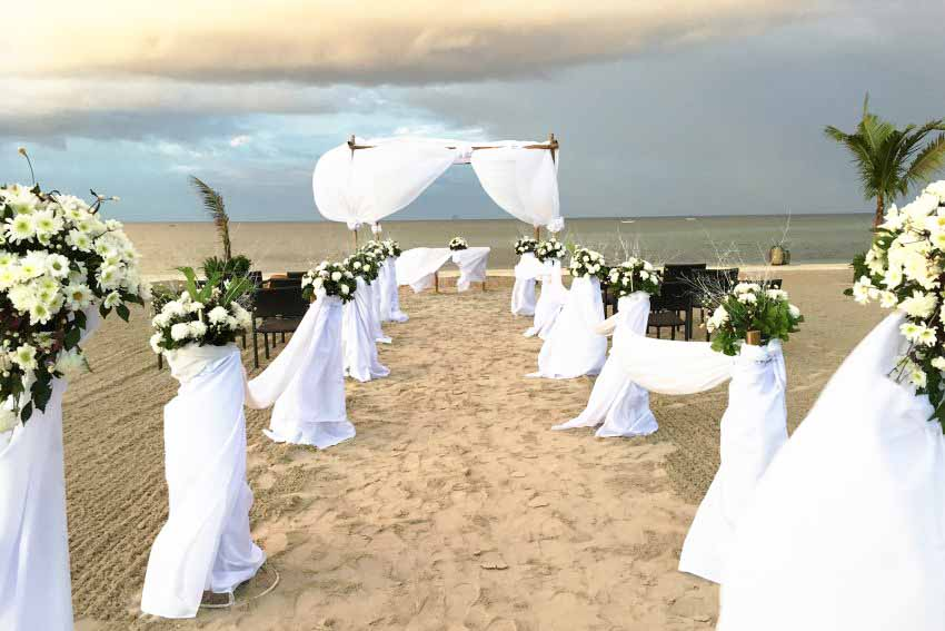 Kandaya Resort Wedding Package (50 pax)