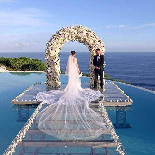 Karma Kandara Ungasan Wedding on Water (30 pax)