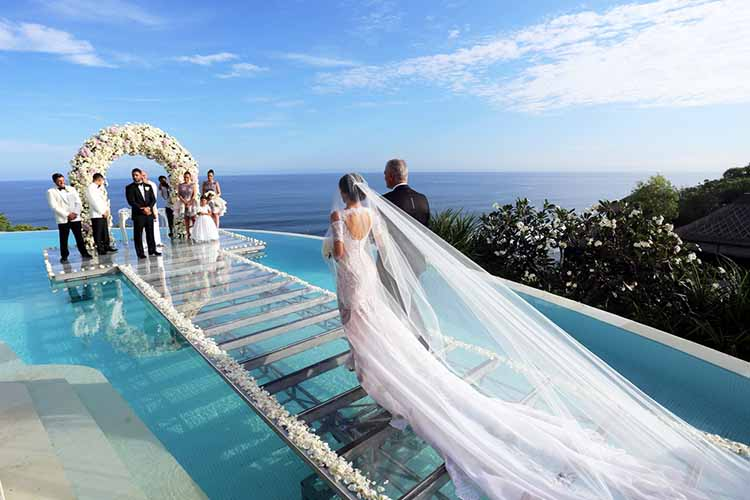 Karma Kandara Ungasan On Water All-Inclusive Wedding (30 pax)