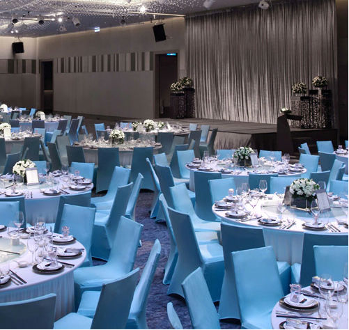 Le Meridien Taipei All-Inclusive Wedding Package (Venue & F&B Costs Not Included - Dependent on Guest Count)