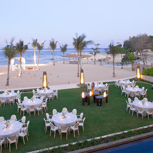 The Mulia, Mulia Resort & Villas - Nusa Dua - 婚宴场地 - Reception set-up - 巴厘岛