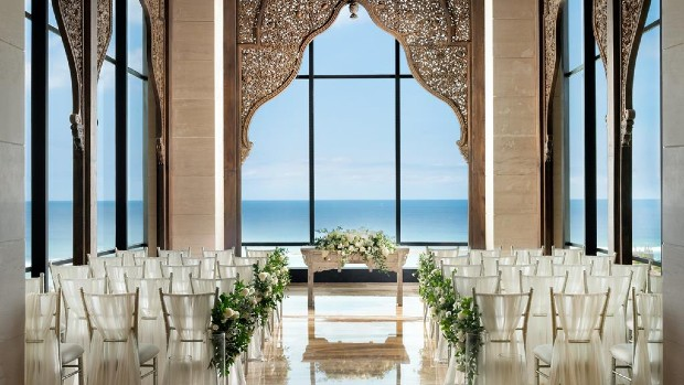 The Apurva Kempinski Bali Cliff Chapel 悬崖教堂全包婚礼(20人)