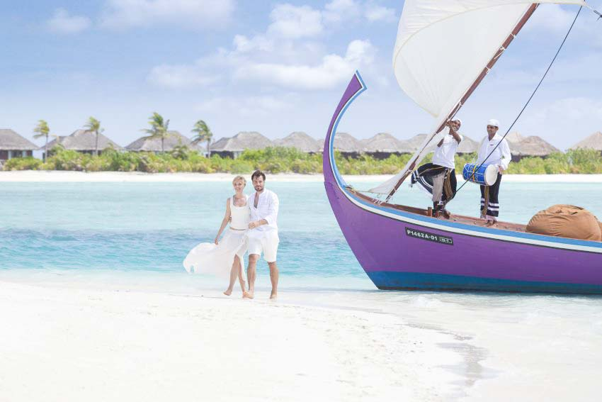 Naladhu Private Island Maldives Wedding Package (20 pax)