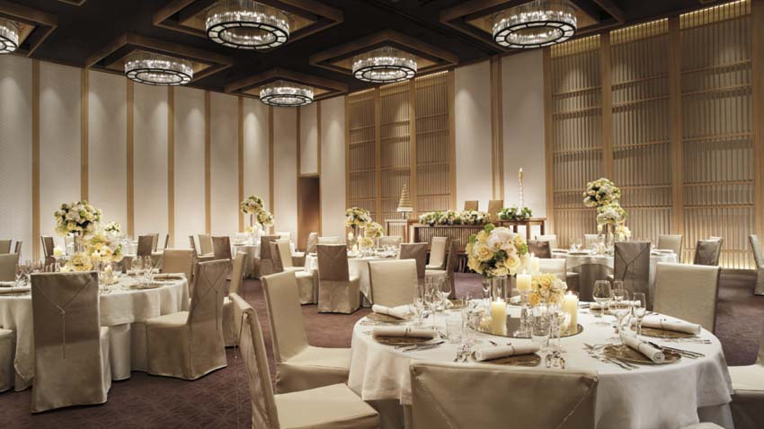 The Ritz-carlton Kyoto Wedding Package (60 pax)