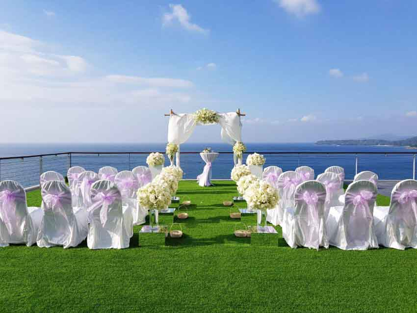 Cape Sienna Phuket Gourmet Hotel & Villas Wedding Package (30 pax)