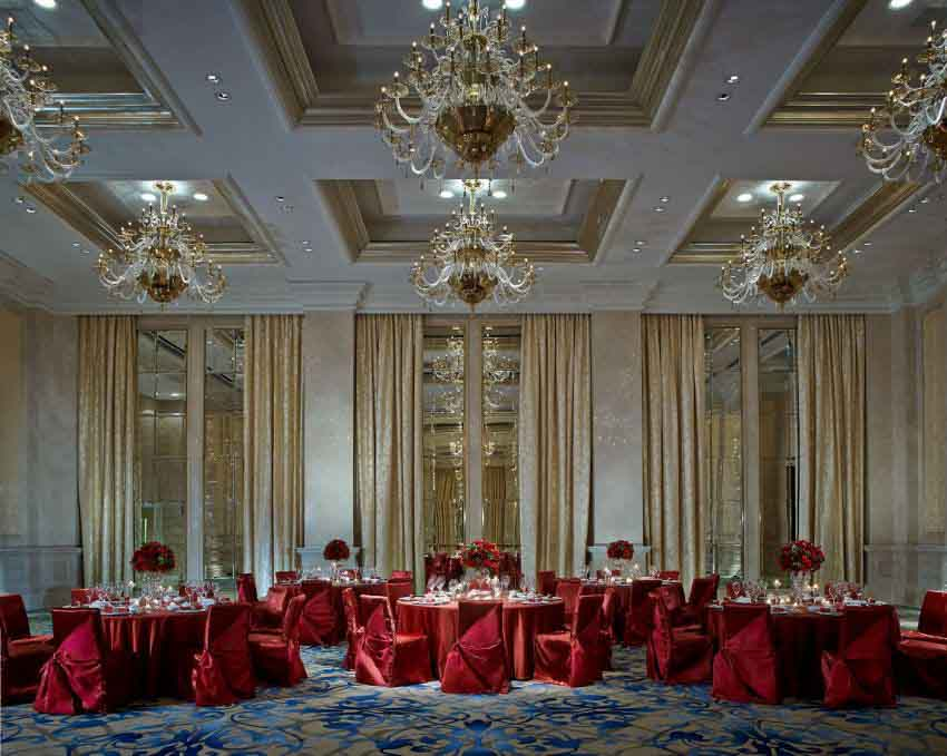 The Ritz-carlton, Macau 婚禮套餐(10人)