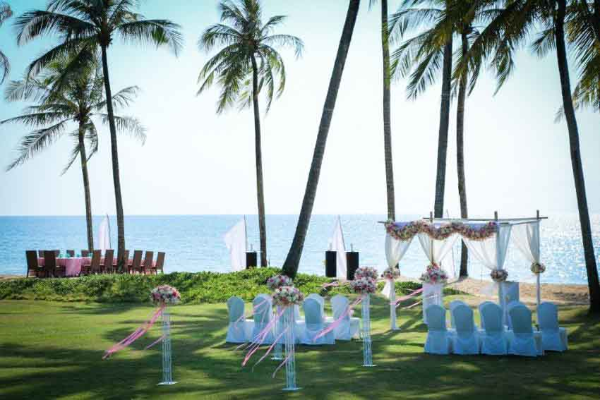 Jw Marriott Khao Lak Resort & Spa Wedding Package (10 pax)