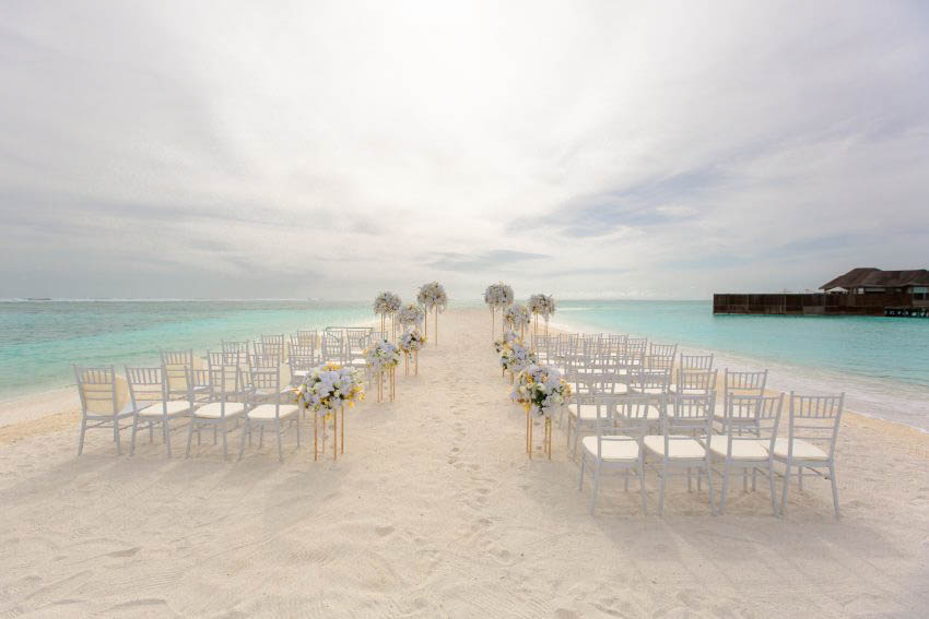 Conrad Maldives Rangali Island Wedding Package (2 pax)