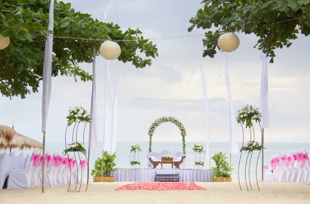 Keraton Jimbaran Beach Resort Wedding (20 - 100 Pax) Inclusive of Photography & Videography + Makeup