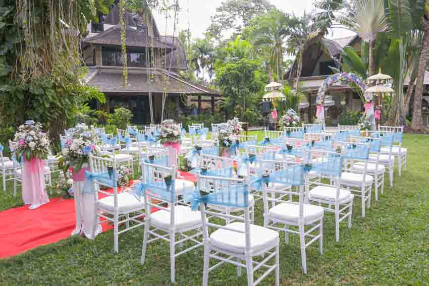 Hotel Vila Lumbung Wedding Package (10 pax)