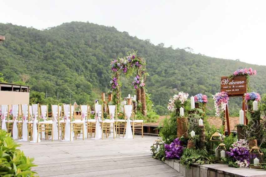 Keemala Wedding Package (40 pax)
