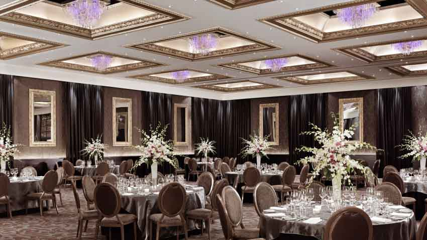 Cordis Auckland Wedding Package (40 pax)