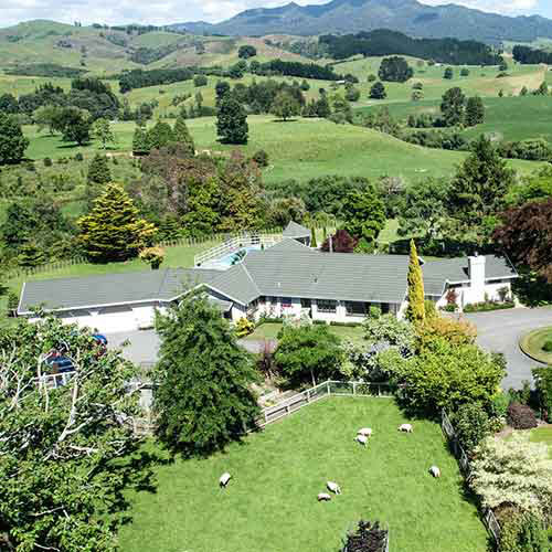Somersal B&B / Wedding Venue--Rotorua-New Zealand