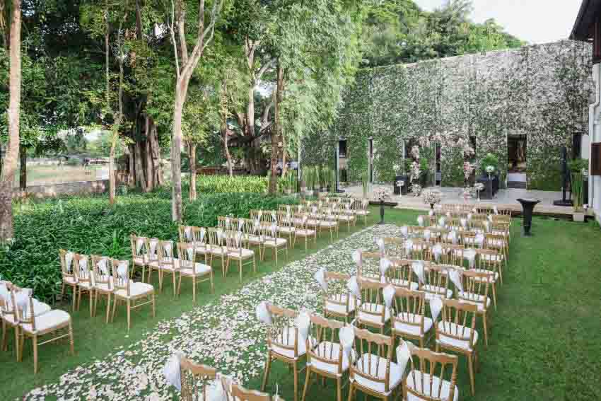 Anantara Chiang Mai Resort Wedding Package (40 pax)