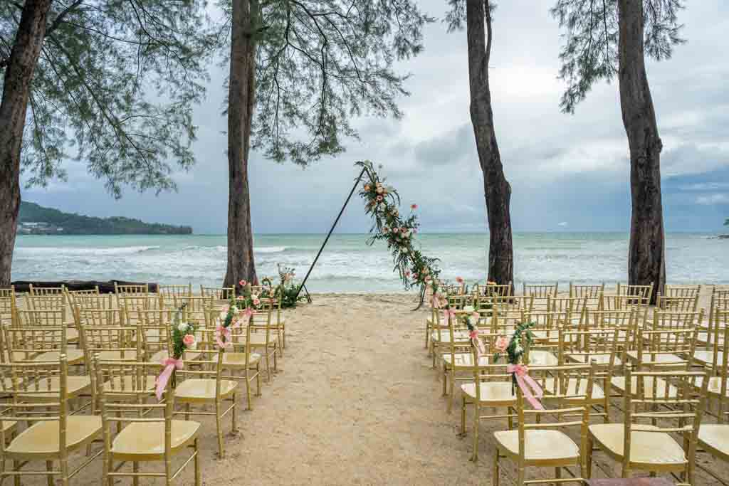 InterContinental Phuket Resort 婚礼套餐(50人)