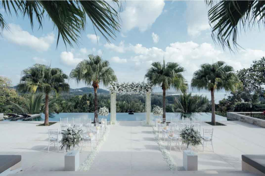 Anantara Layan Phuket Resort Layan Residence Wedding Package (50 pax)